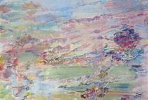 Art, Large Format Painting / Featuring large scale abstract and representational oil on canvas paintings.