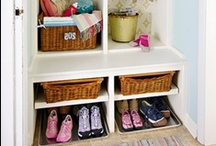 Mudroom / Functional, practical but oh so pretty!