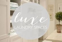 Luxe Laundry Spaces