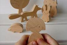 werken met hout / Meubels, speelgoed en lesmateriaal maken met hout