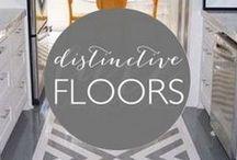 Distinctive Floors / Beautiful and unique flooring ideas