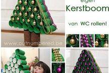 Kerstmis, ideeën  en knutsels