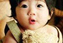Korean kids.