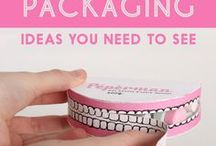 creative packaging ideas / creative packaging