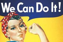 Women's History Month / Pins celebrating Women's History Month  / by Charlotte Mecklenburg Library