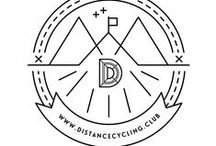 Distance Cycling Club / Visual identity for Distance Cycling Club