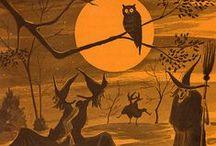 Wheel of the Year: Samhain/All Hallows Eve / Samhain festivities and celebrations.