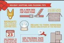 Landport Loves Packaging & Shipping Infographics / Theres lots of handy tips to be had in these easy to understand infographics.