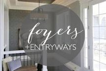 Foyers + Entryways / Inspiring entrances for your home