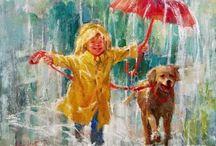 Under my umbrella / by Sandra