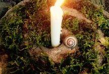 Wheel of the Year: Imbolc/Candlemas / Imbolc festivities and celebrations.