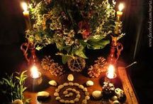 Wheel of the Year: Midsummer/Litha/Summer Solstice / Litha festivities and celebrations.