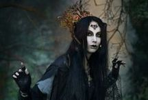 Fashion & Style: Hexen / Dark forest witchling style.