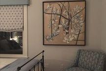 Art, Installed Work, Paintings / My work installed in various venues.