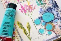 Skizzenbuch & Artjournal Ideen | BloggerInnen Gruppenboard / Hier sammeln wir Ideen, Tipps und Inspiration für ein schöne, kreative und entspannte Skizzenbuch- oder Artjournal-Praxis. Du willst mitpinnen? Toll, schreibe mir einfach an info@geschesanten.com