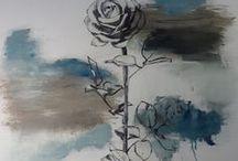 Art, Paintings of Roses