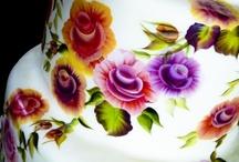Decorative Cake Painting