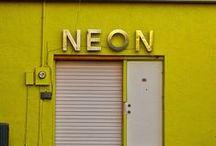 Neon Love / Neon colors