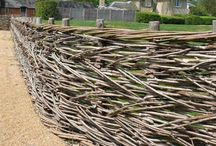 Fencing, arches and similar / Garden design ideas.... Fences, fedges, trellis, arches.....