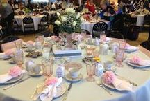 Macmillan vintage afternoon tea ideas / Ideas for our fundraising event in the garden