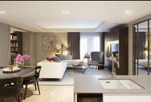 The Landau, Fulham SW6 / A boutique collection of 89 elegantly designed apartments in Fulham, London SW6 by Mount Anvil and Affinity Sutton.