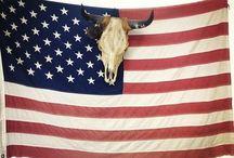 America, America / Red white and blue