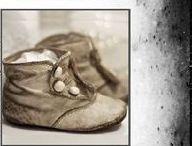 ...............  Souliers .............. / chaussures anciennes . bottines anciennes . 19 ème . XIX