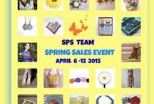 ~ SPS TEAM SPRING SALES EVENT April 6-12 ~ Don't miss it! / See the list of participating shops here -  http://strategicpromotionforsuccess.blogspot.com/2015/03/spring-sales-event-participating-shops.html   Many great discounts!
