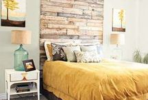 Master Bedroom Ideas / For the newlywed love birds.