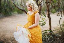 Yellow Happy Wedding