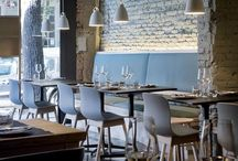 Restaurant design / Brilliant interiors of restaurants