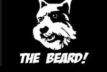 Fear the beard. / Dogs with beards