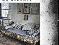 ............. Chambres ............. / CHAMBRES . LIT . DECORATION ANCIENNE . LINGE ANCIEN