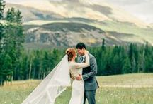 Colorado Wedding Inspiration / Gorgeous wedding inspiration for Colorado couples.  Amazing venues, design, and ideas for Rocky Mountain Weddings!