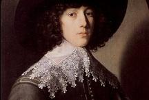 17de eeuw (1601-1700) / De 17e eeuw staat ook wel bekend als de Gouden Eeuw van de Nederlanden. Het was een hoogtepunt van handel, kunst, rijkdom en macht. De Republiek der Verenigde Nederlanden genoot veel aanzien en was dientengevolge invloedrijk in de rest van Europa. De 17e eeuwse mode werd echter voorgeschreven door de Fransen, en dan met name door koning Lodewijk XIV. Deze fameuze man bracht één van de meest uitgesproken modeuitingen in de geschiedenis teweeg: de Pruikentijd.