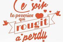 L'Amour au Goût du Jour / Pour la Saint-Valentin, partagez ces petits mots d'amour....