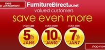 Coupon Code / Exclusive Deals, Coupon codes and Offers at Furniture Direct UK.