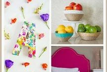 DIY Home Crafts / I love these DIY home decor ideas #DIY #Home #Crafts