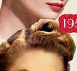 Coiffures 1930/1940