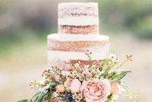 Wedding Cake Ideas / Delicious wedding cake ideas for rustic or refined weddings in the country.
