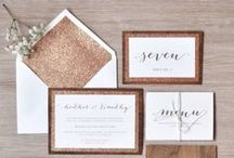 Wedding Stationery Ideas / For all of your contact with family and friends, beautiful invitations and thank you card ideas for your wedding stationery.
