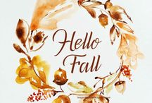 Autumn / Fall in love with fall