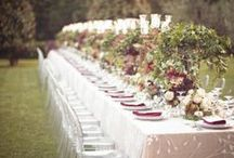 Table Tops / by * Epic Events *