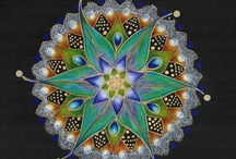 Mandalas in Art and Nature / My passion is sharing the Beauty in and around us with a focus on Mandala's and any round shape in Art and Nature. Hand made , computer generated or created by Mother Nature . Contemporary or from the past.    Note: I take great effort to find the artist so please honor them when you repin.   / by Ellen van der Molen