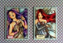 Papercrafts - ATC / by Tim & Laura Love