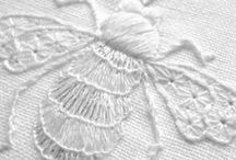 Embroidery / Embroidery, drawn-thread work, and smocking