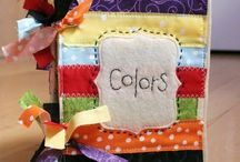 Sewing Quiet Books / Inspiration for sewing quiet activity books or pages for children.