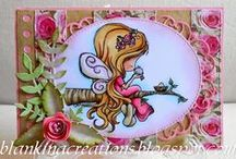 LRS Design Team - BLANKINA / This is where you will find all of the gorgeous designs created by Loves Rubberstamps Design Team Member - Blankina. You can check out more of Blankina's work on her blog: Blankina Creations / by Tim & Laura Love