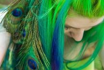 Rainbow Hair / by Kelli Boulter