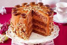 Tolle Torten / Luftiger Biskuit und cremige Füllungen - die besten Rezepte traumhafte Torten.